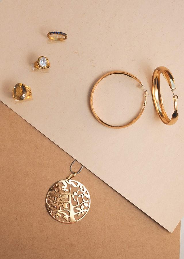 Collier arbre de vie or